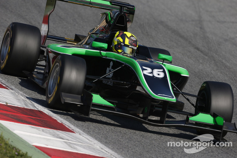 Nick Yelloly fastest on Day 1 in Barcelona