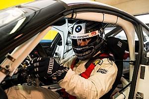 Blancpain Sprint Practice report BMW works driver Alex Zanardi is back in business