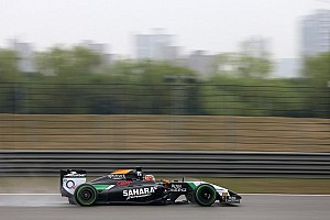 P8 for Hulkenberg and Perez left in Q2 of qualifying session at Shanghai