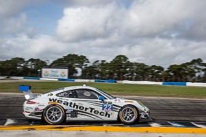 Alex Job Porsches start second, 11th in class in TUDOR Challenge