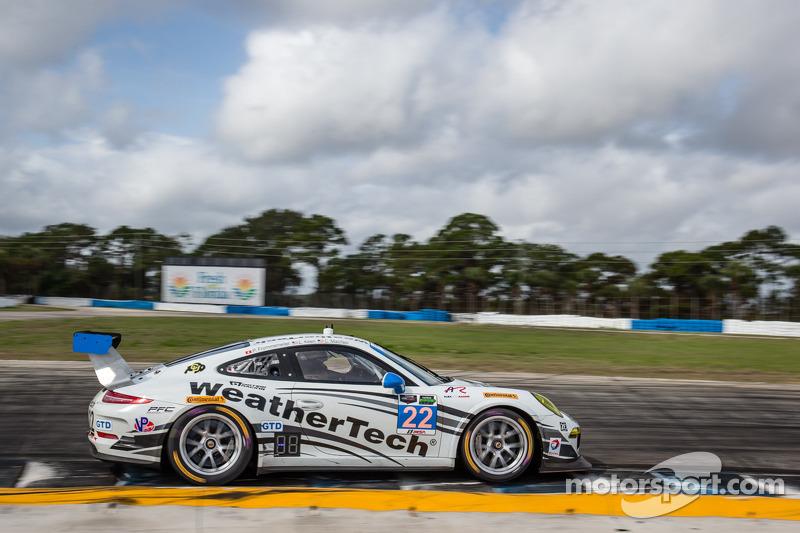 Alex Job Porsches start second, 11th in class in TUDOR Challenge