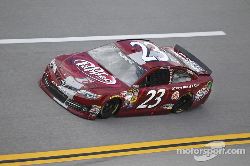 Bowman caught up in last lap crash- finishes 28th at Talladega