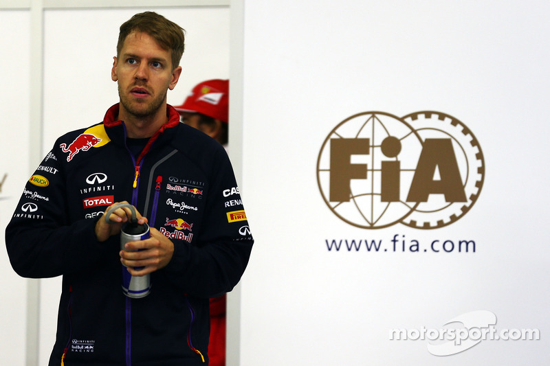 Vettel raced kart in F1 calendar break