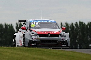 Loeb prevails in rain-soaked Race 1