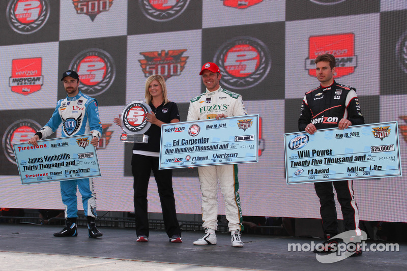 Carpenter back-to-back Indianapolis 500 pole winner