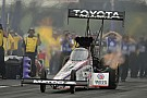 Antron Brown rallies back from devastating qualifying crash