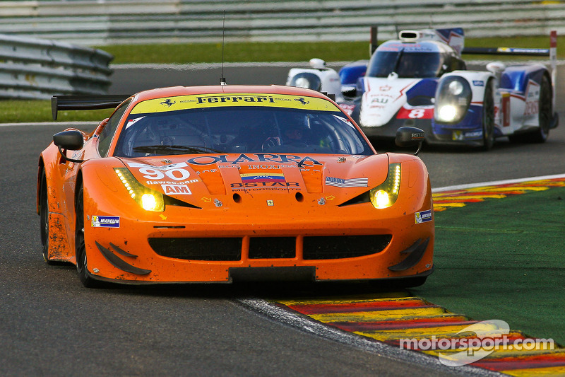 Enzo Potolicchio out, Frankie Montecalvo in for 2014 24 Hours of Le Mans