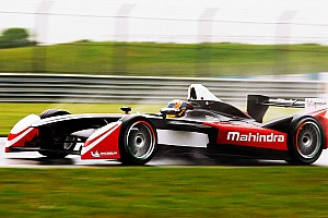 Formula E Testing report Successful shakedown for Karun Chandhok and Mahindra Formula E team