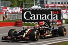 Lotus: A productive first day of running for the Canadian Grand Prix