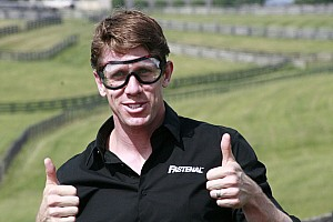 In his own words: Carl Edwards talks about being on fire. Literally.