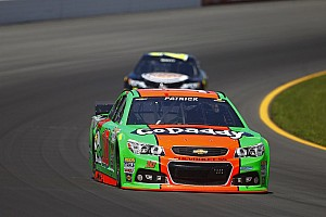 NASCAR Sprint Cup Race report Late crash costs Danica Patrick at Pocono