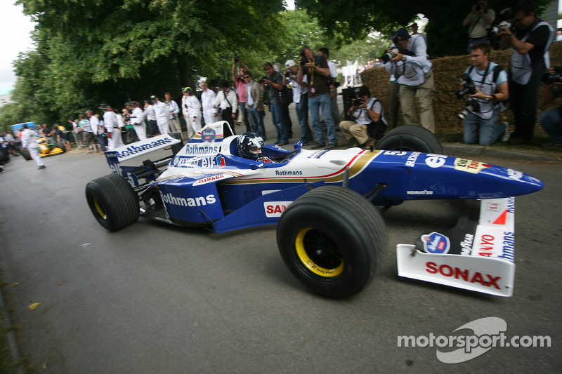 Williams showcases its Heritage at the Goodwood Festival of Speed