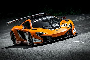 GT Breaking news McLaren 650S GT3 revealed at Goodwood Festival of Speed