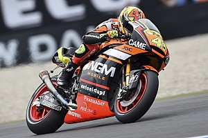 Marquez, second in Germany despite a crash