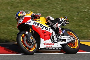 Marc Marquez and Dani Pedrosa run the show in Sachsenring qualifying