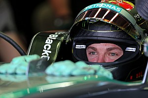 Rosberg quickest in opening practice of home Grand Grix