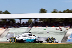 Formula 1 Practice report Mercedes' Hamilton ended the first day at Hockenheim fastest