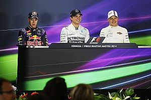 Formula 1 Press conference 2014 Hungarian Grand Prix qualifying press conference