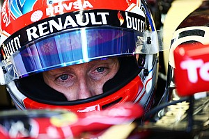 Team performance firing Lotus exit rumours - Grosjean