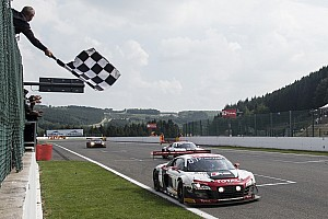 No. 1 Belgian Audi Club Team WRT Audi R8 victorious at Spa