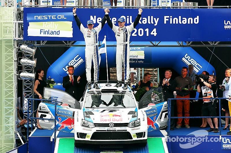 Latvala wins for the Finns