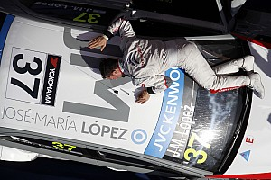 WTCC Race report Lopez wins both races at home