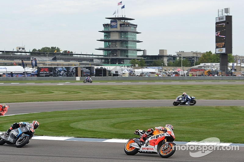 MotoGP riders eager to get back on track at Indianapolis