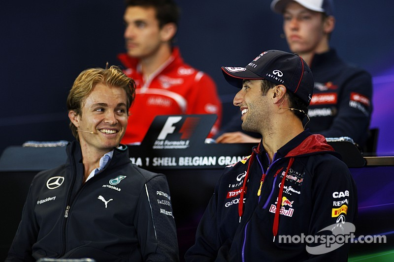 2014 Belgian Grand Prix Thursday Press Conference
