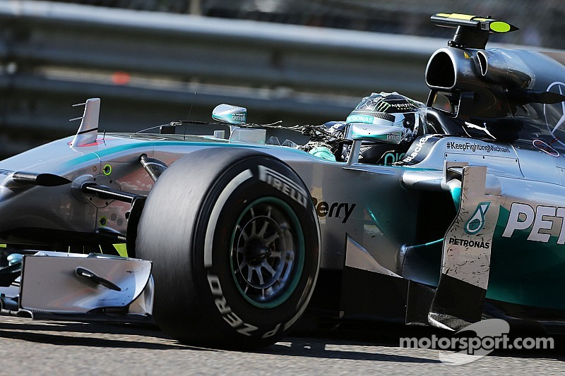 Drivers back Rosberg over Hamilton clash
