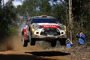 WRC Stage report Kris Meeke among the leaders in Australia