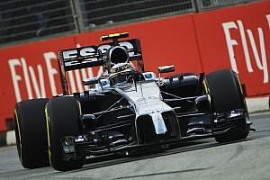 A busy first day's practice for McLaren at Marina Bay street circuit