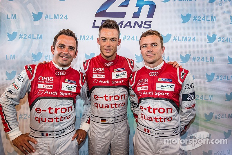 Audi co-drivers reveal how they work together as a coherent whole
