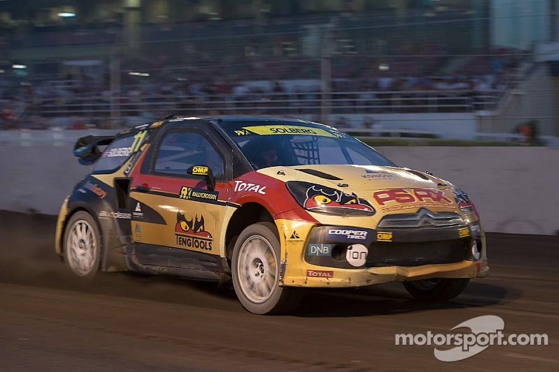 Petter Solberg on top at Germany RX