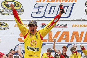 NASCAR Sprint Cup Race report The right way: Joey Logano is legit at Loudon