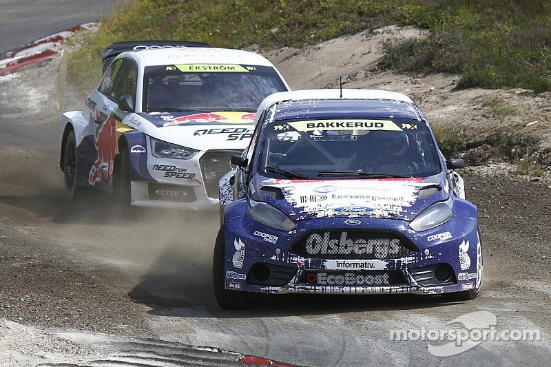 Good speed but mixed results for Olsbergs MSE Ford in World RX of Germany