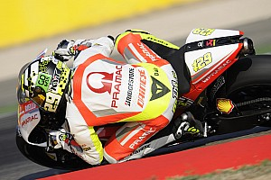 Iannone changes bike but not the results