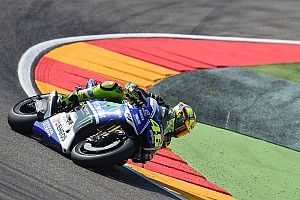 MotoGP Interview Valentino Rossi talks about his crash at Aragon