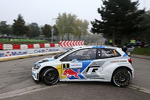 Ogier loses all hope of winning Rallye de France