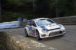 Latvala leads opening day in France