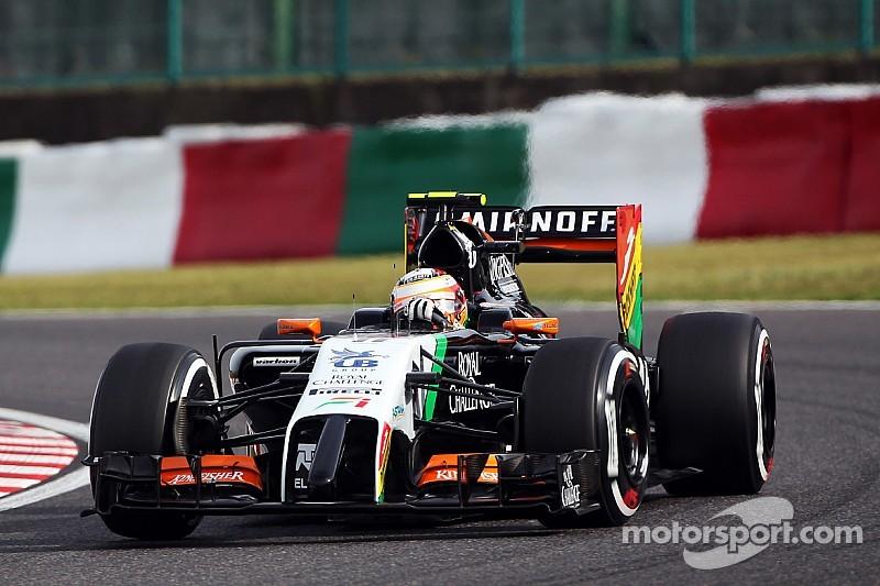 No Q3 for Sahara Force India at Suzuka