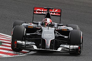 In qualifying for the Japanese GP, both Sauber drivers managed to make it into Q2