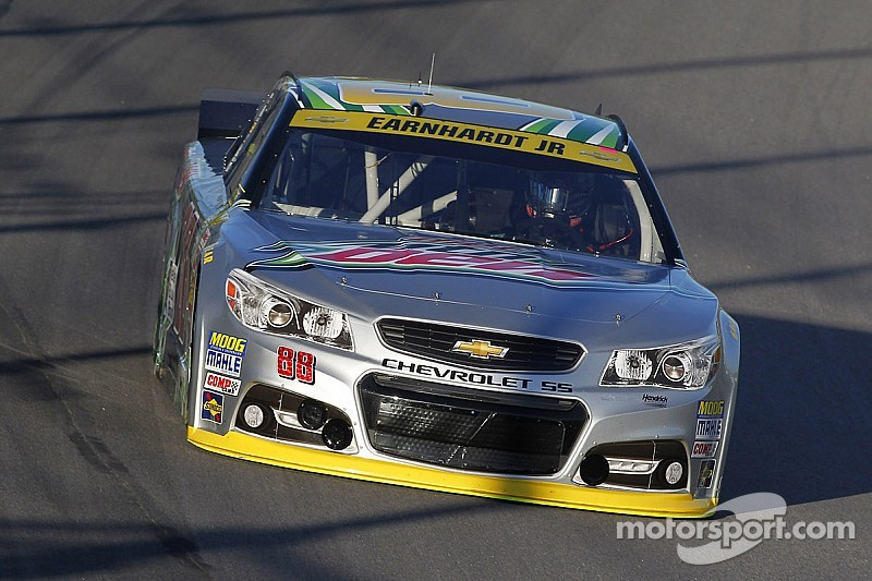 Dale Earnhardt Jr.: Pressure's off after calamity in Kansas
