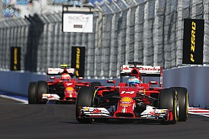Ferrari: A subdued Friday in Russia
