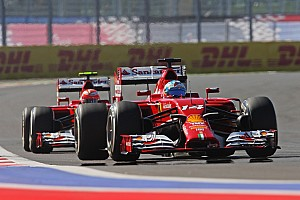 Ferrari: Row Four for Russian debut