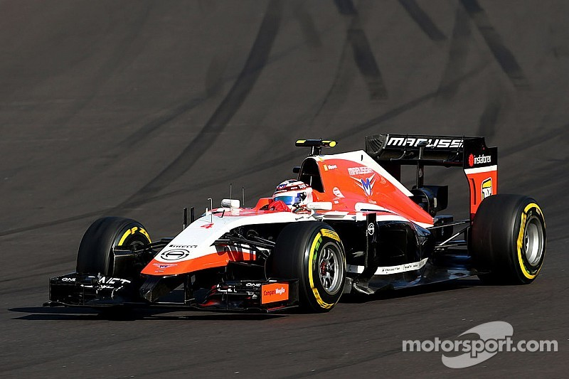 An issue with the right rear cause DNF for Marussia at Sochi