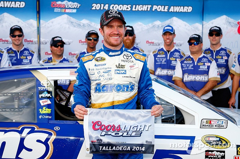 Vickers claims Sprint Cup pole at Talladega