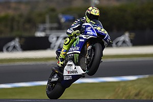 MotoGP Race report Bridgestone: Rampant Rossi wins at Phillip Island to lead Yamaha clean sweep