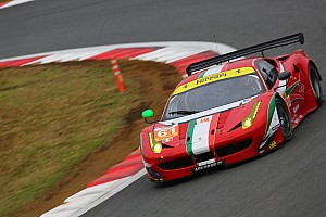 AF Corse pulls two GTE Am Ferraris from Shanghai race