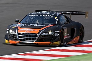 The Belgian Audi Club Team WRT in the race for five titles at Blancpain season's finale in Baku