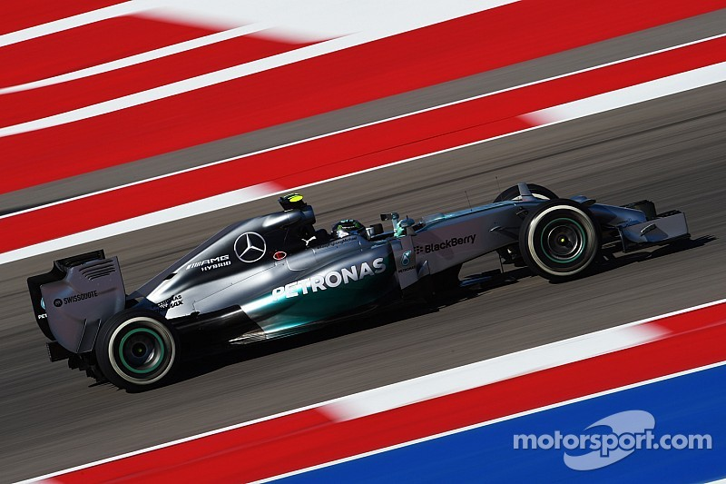 United States GP qualifying results: Rosberg eclipses Hamilton